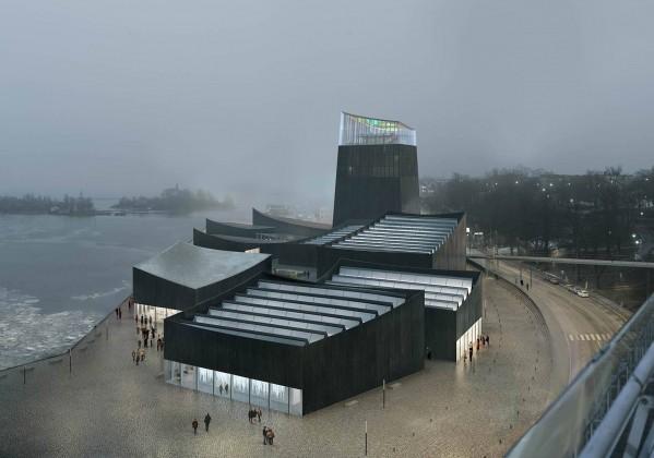 Helsinki,Guggenheim,moreau kusunoki architectes