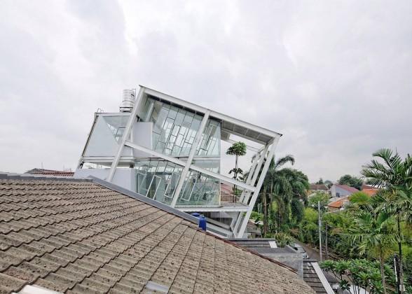 fernando gomulya, Budi Pradono Architects, Slanted House