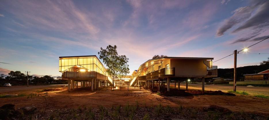 peter bennetts,sürdürülebilirlik,bakım merkezi,warmun,Iredale Pederson Hook Architects