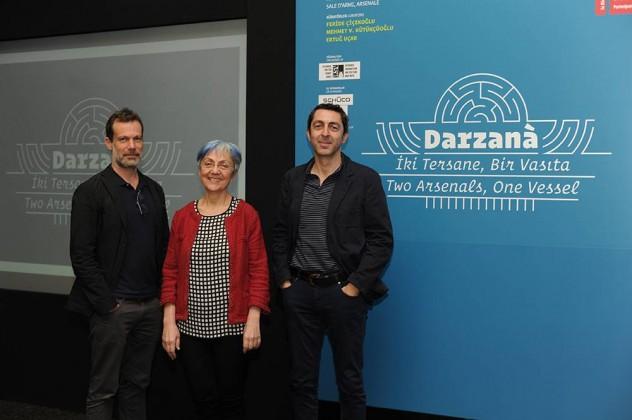Venedik Mimarlık Bienali,Türkiye Pavyonu,Darzanà projesi,iksv