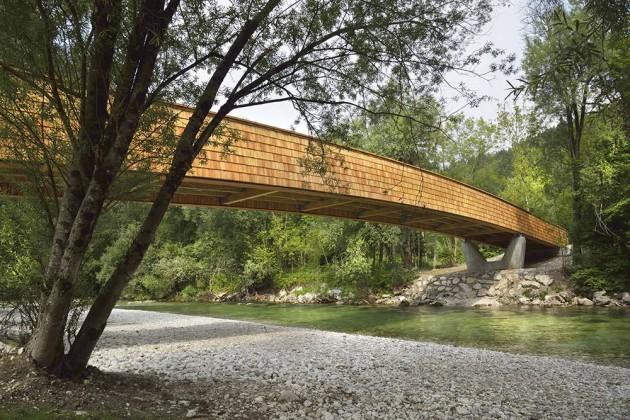miran kambič, köprü, slovenya, dans arhitekti