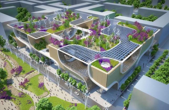 sürdürülebilirlik,karma yapı,vincent callebaut architectures,avm,habitat,