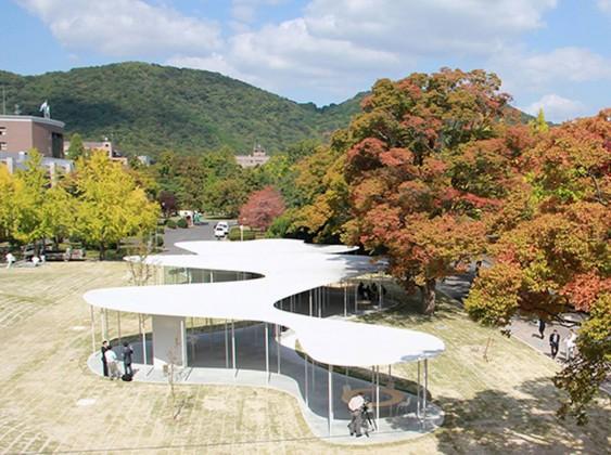 kampüs, japonya, sanaa, okayama üniversitesi, kafe