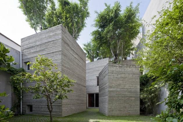 hiroyuki oki, peyzaj, vietnam, ho chi minh, konut, vo trong nghia architects