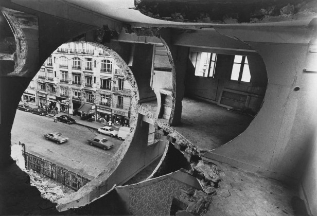 conical intersect, gordon matta clark,