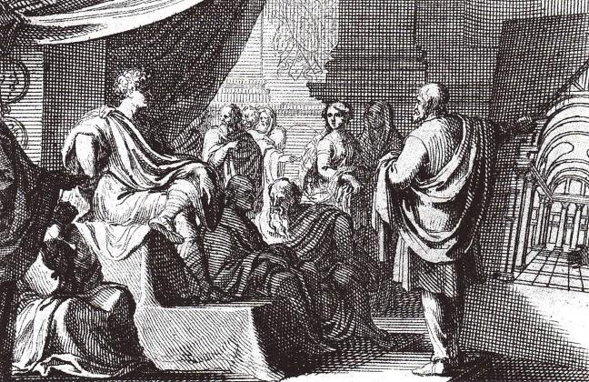 Vitruvius, Augustus' Gravür Sébastien Leclerc