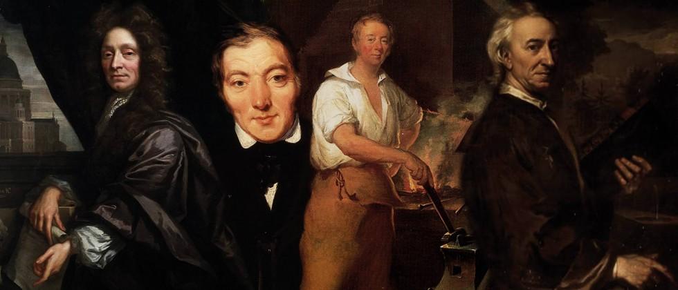Christopher Wren, Robert Owen, John Evelyn
