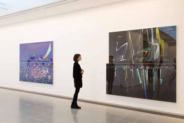 Zaha Hadid,Early drawings and paintings