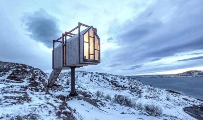 Fleinvær barınakları,tyin tegnestue, rintala eggertsson architects