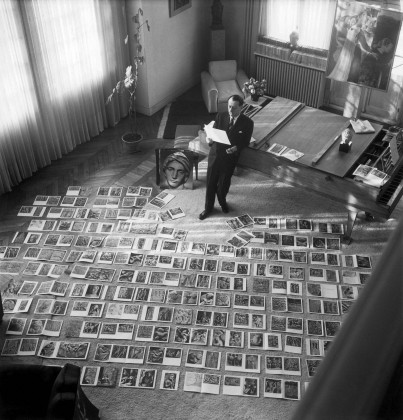 André Malraux,Hayali Müze,Maurice Jarnoux,Paris Match