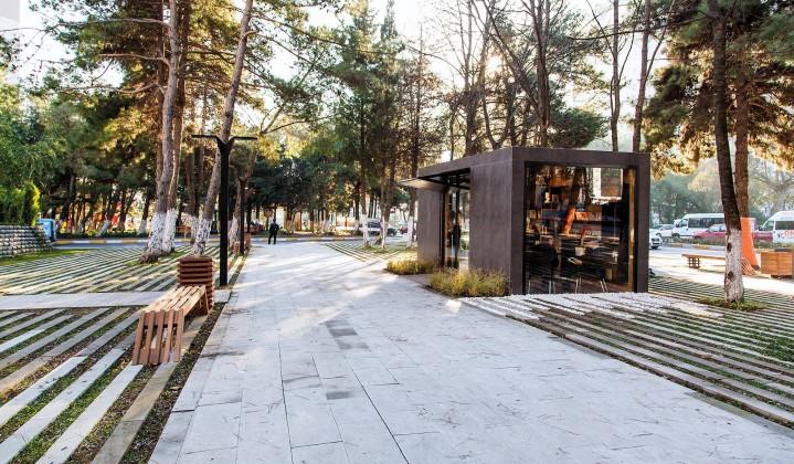 Cumhuriyet Caddesi Kentsel Tasarım Projesi 1.Kısım Kiosk Yapısı Ve Park, Project Design Group