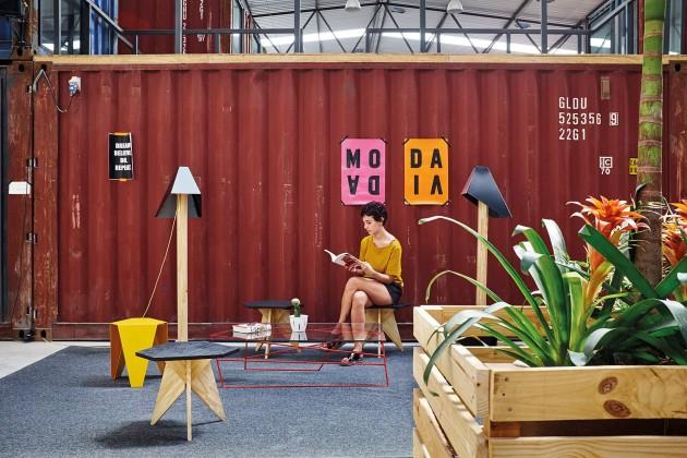 malha,Tavares Duayer Arquitetura, ortak çalışma alanı, yeniden işlevlendirme, xxi mimarlık tasarım mekan dergisi