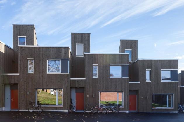 Toneheim Folkehøgskole öğrenci yurdu, ASAS arkitektur, xxi dergisi