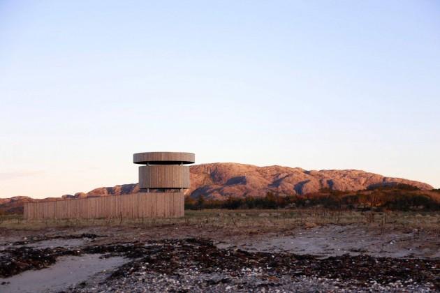 herdla kuş gözlem kulesi, norveç, xxi mimarlık dergisi
