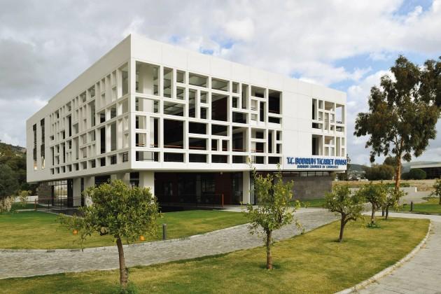 Bodrum Ticaret Odası Hizmet Binası, Stüdyo501 mimarlık, xxi mimarlık dergisi