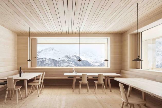 Bernardo Bader Architect, ski lounge wolf, xxi mimarlık dergisi