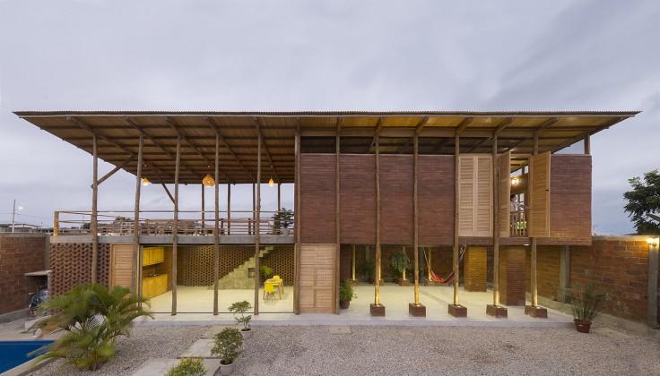 stilts house, natura futura arquitectura