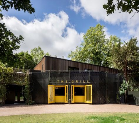Regent's Park açık hava tiyatrosu, reed watts architects