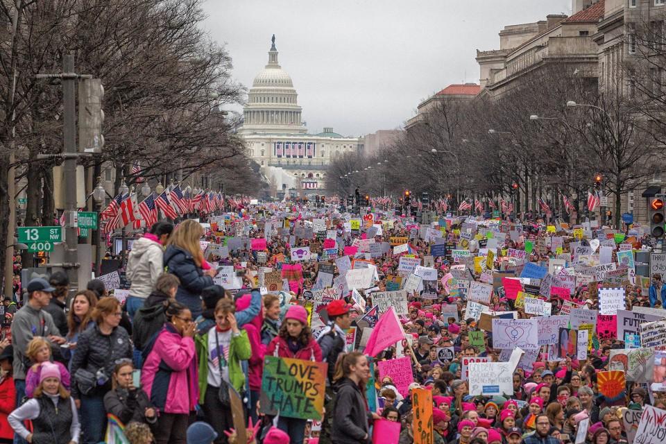 Kadınların Yürüyüşü,Women's March,