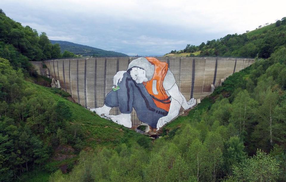 sleeping giants,ella,pitr,xxi,mural