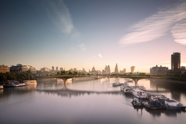 thomas heartherwick,garden bridge,